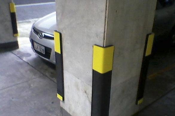 protetor para estacionamento